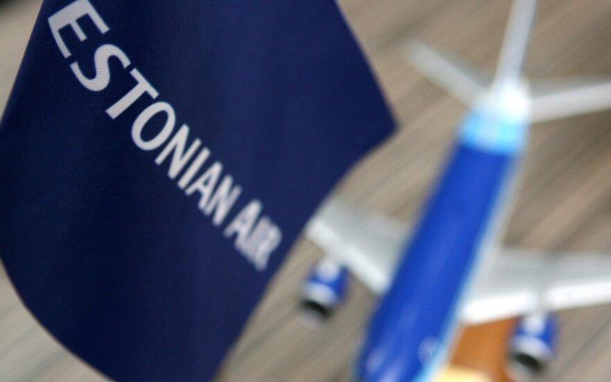 """""""Estonian Air"""" atsidūrė ties bankroto riba"""