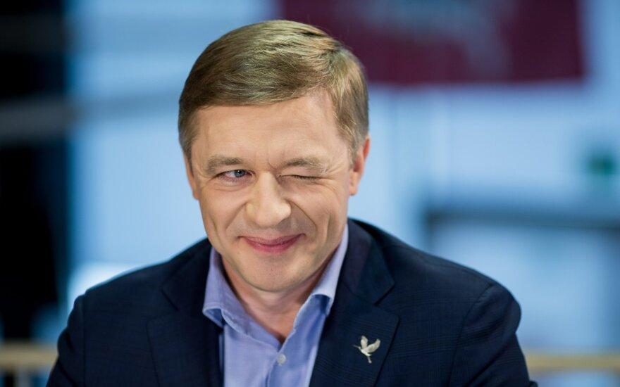 Ramūnas Karbauskis DELFI TV studijoje