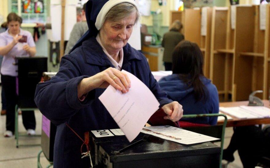 EP rinkimai Airijoje