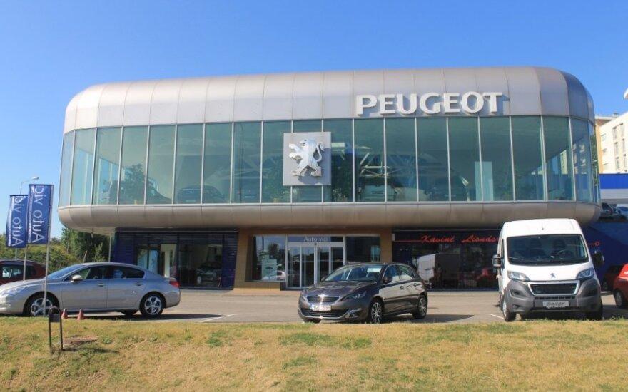 Peugeot salonas Vilniuje
