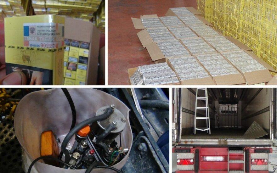 Panemunės poste sulaikė įspūdingą kontrabandos siuntą ir piktnaudžiavimu įtariamą muitininką