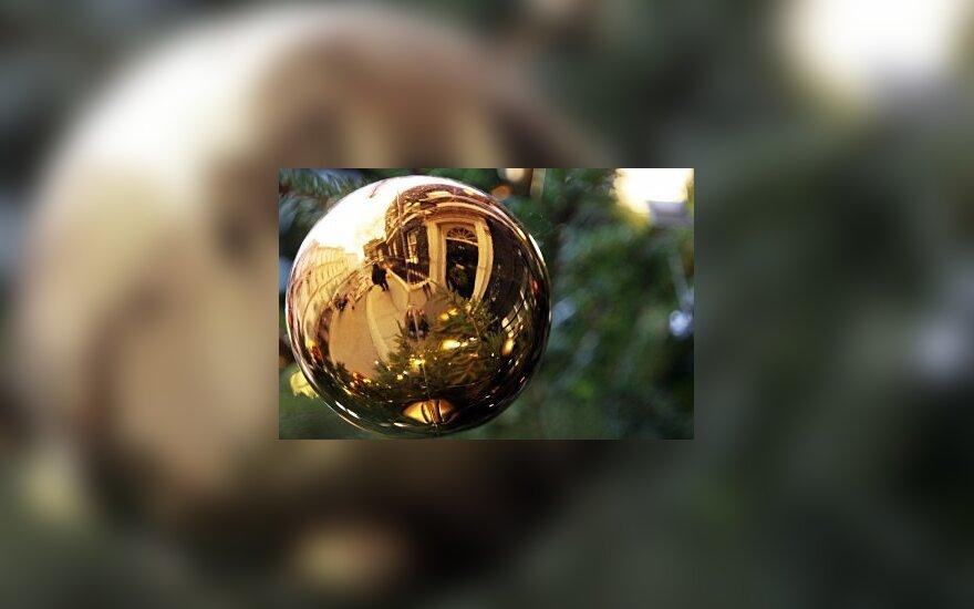 Žaisliukas ant Kalėdų eglės