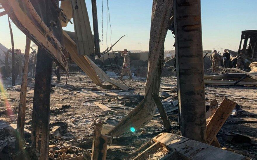 Raketomis atakuota JAV pajėgų bazė Irake