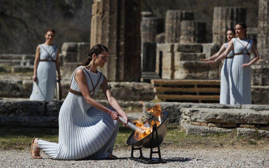 Olimpinės ugnies įžiebimo ceremonija