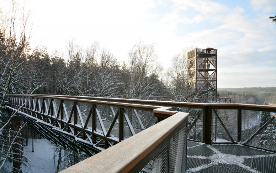 Lithuanian treetop walk shortlisted for UNWTO tourism innovation award