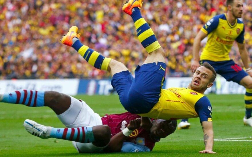 "Smūgis ""Arsenal"": šiemet J. Wilshere'as nebežais?"