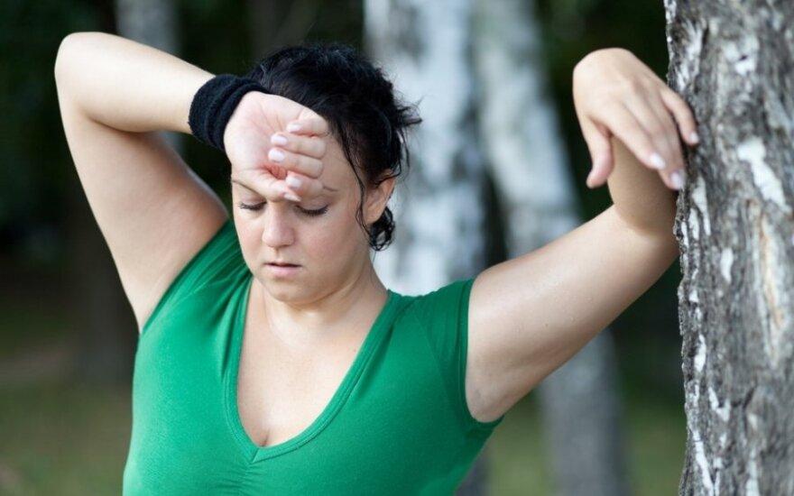 Norintiems sulieknėti, geriau sportuoti ryte