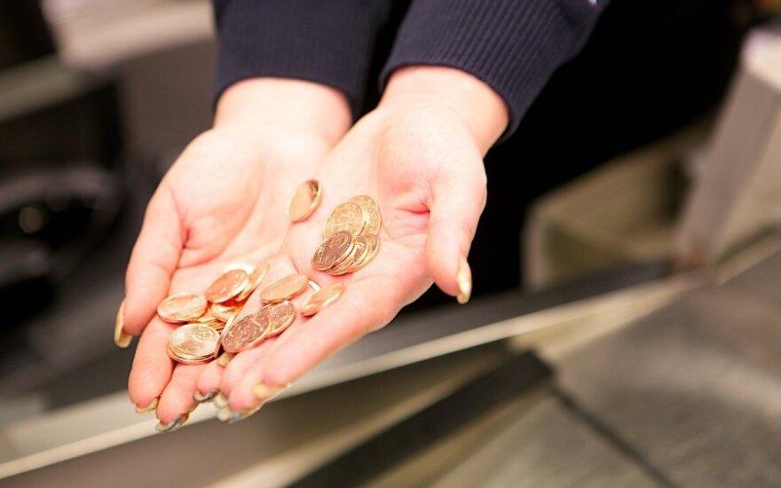Pirmą kartą po euro įvedimo apsilankė parduotuvėje: ką pastebėjo