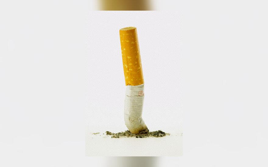 Cigaretė, nuorūka, rūkymas