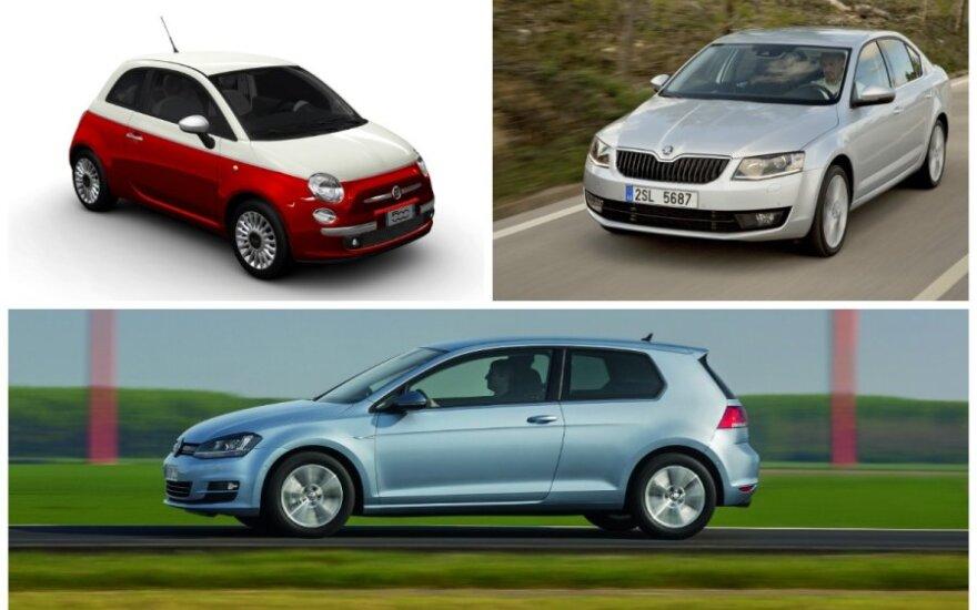 Populiariausi 2013 m. automobiliai