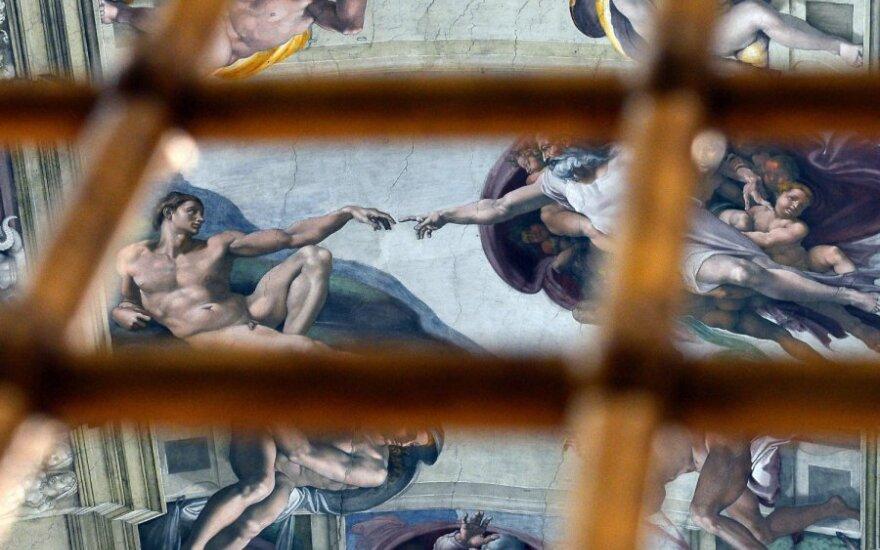 Siūloma lažintis, kas taps nauju popiežiumi