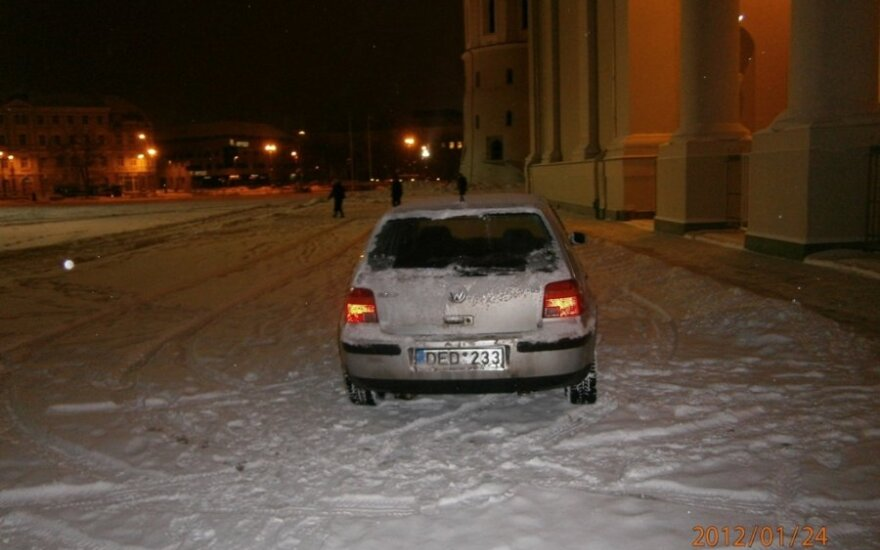 Vilniuje, Katedros a. 2012-01-24