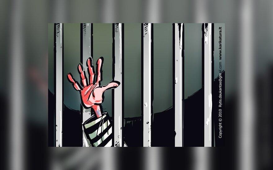 Nė pusės bausmės neatlikęs narkotikų platintojų gaujos šulas vos neištrūko į laisvę