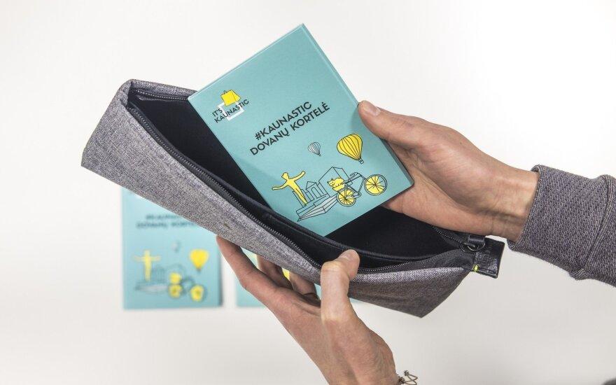 Kaunas pristato pirmąją Lietuvoje miesto pramogų kortelę
