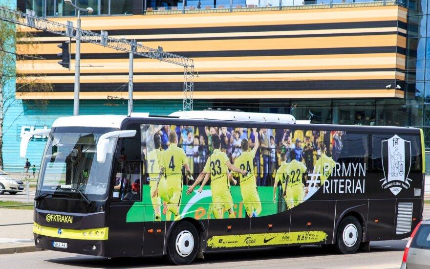 """Trakų"" komandos autobusas"