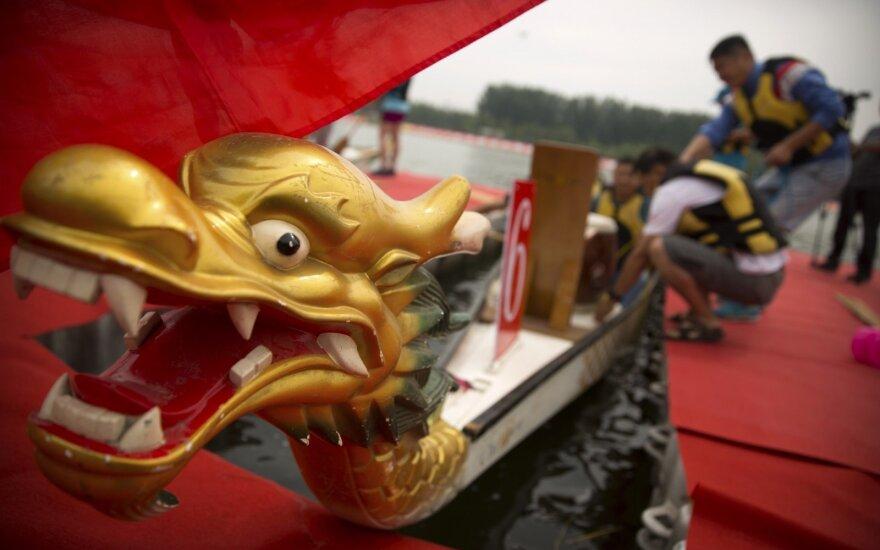 Drakono valčių festivalis Kinijoje