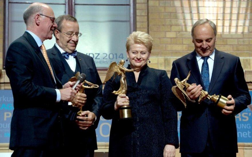 N. Lammert, D. Grybauskaitė, A. Berzins, T. H. Ilves