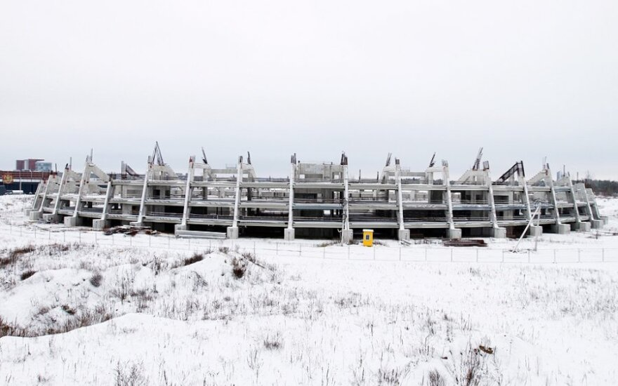 Nacionalinį stadioną planuojama pradėti statyti nuo aikštynų