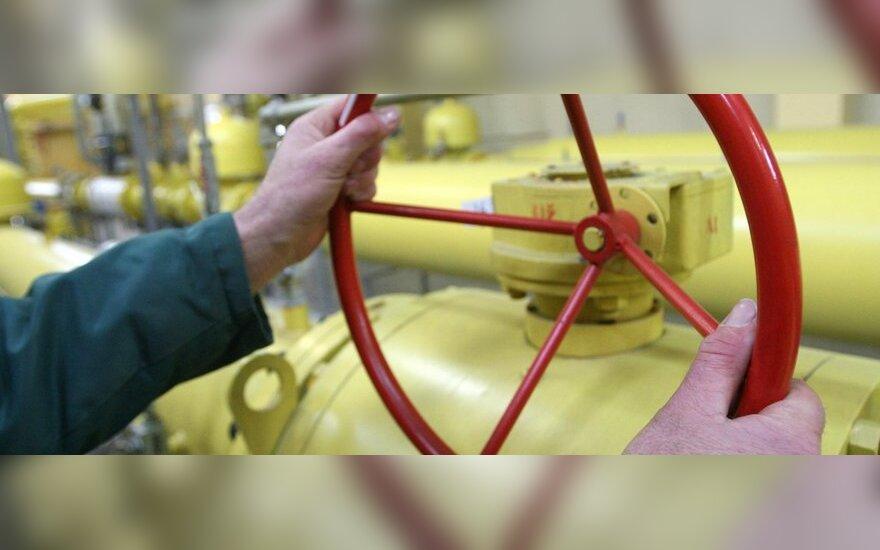 Balandį dujos įmonėms brango 1,8 proc.