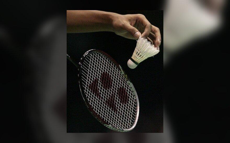 O.Jaciuk pateko į Europos jaunimo badmintono čempionato šešioliktfinalį