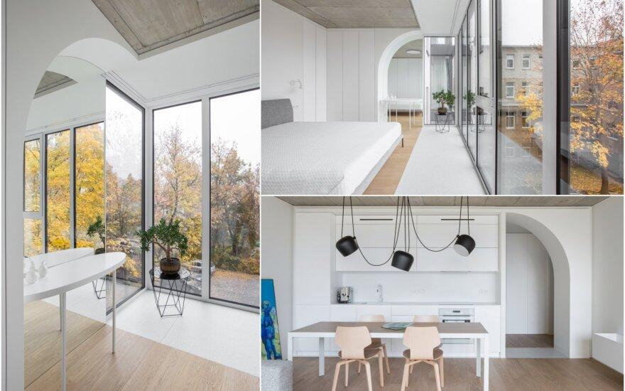 Baltas minimalizmas/ Foto: Andriaus Stepankevičiaus