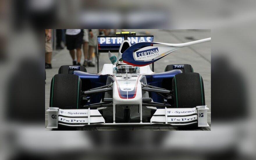 """Nickas Heidfeldas su """"BMW Sauber"""""""