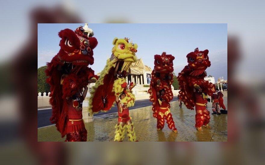Kinijoje švenčiami Naujieji metai