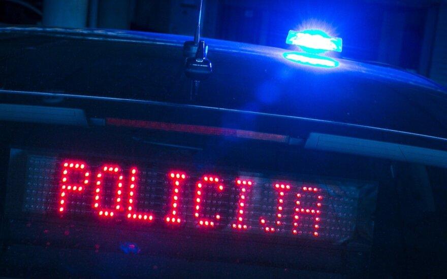"""Nežymėta policijos """"Audi"""""""