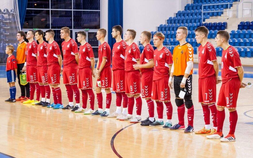 Lietuvos salės futbolo (futsal) rinktinė / Foto: futbalsfz.sk