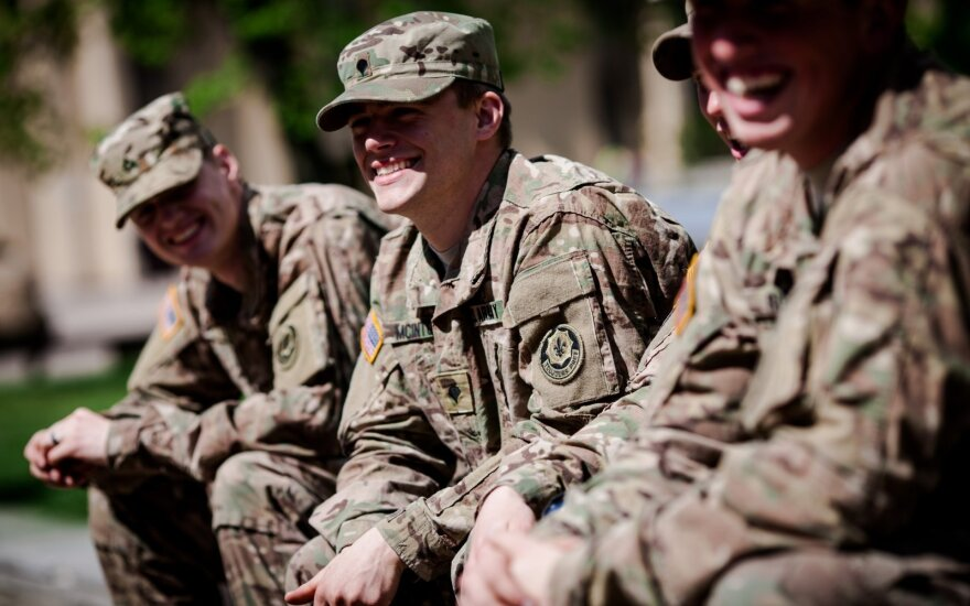 Lithuanian and American troops start joint exercise