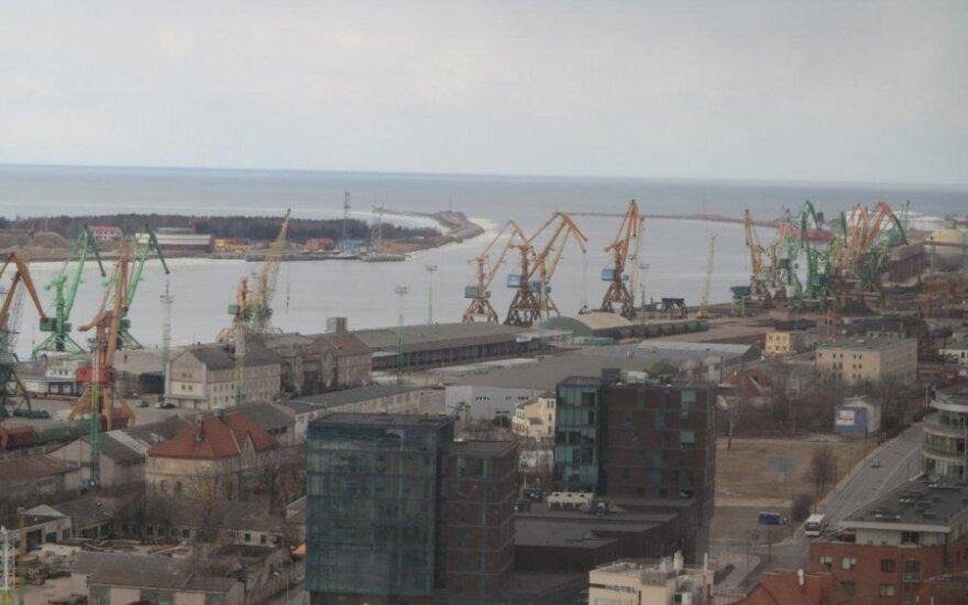 Klaipėdos uoste - įtartini skrydžiai