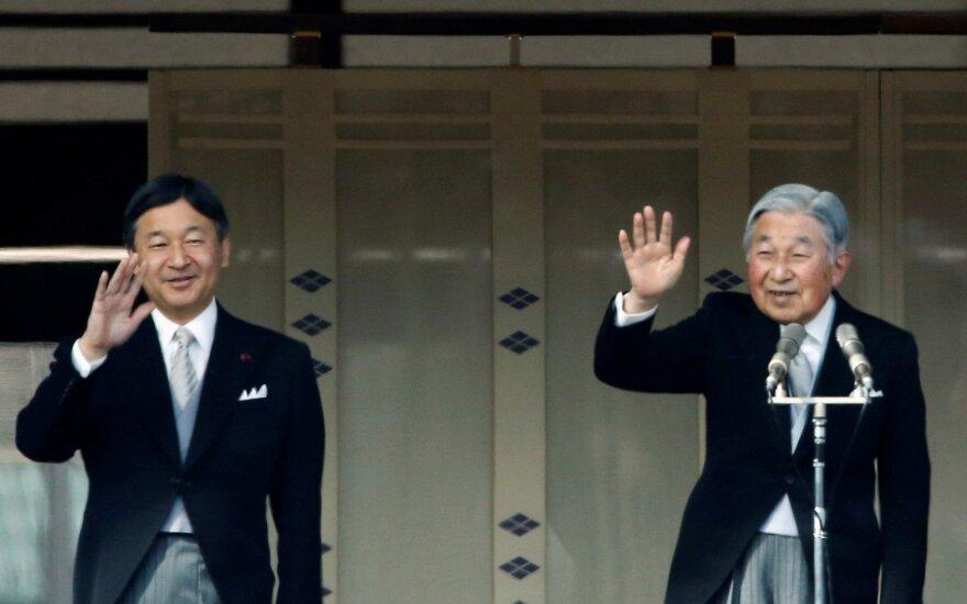 Naruhito tapo Japonijos imperatoriumi, šalyje prasideda naujasis laikotarpis Reiva
