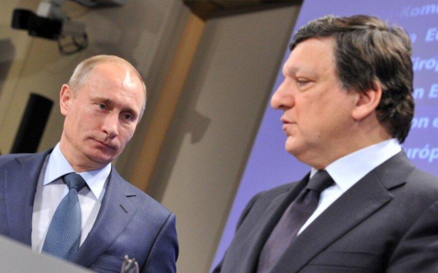 Vladimiras Putinas ir Jose Manuelis Barroso