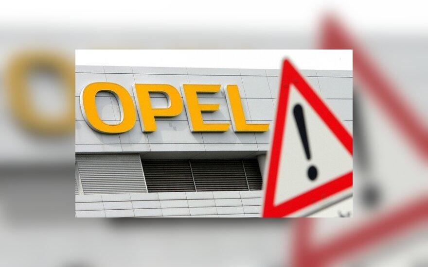 """Amerikiečių sprendimas pasilikti """"Opel"""" įsiutino vokiečius"""