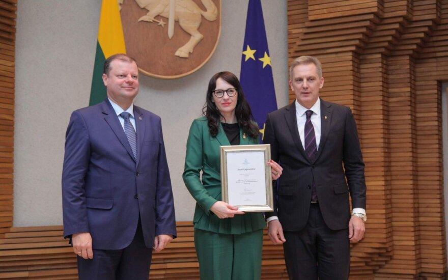 Metų verslininke išrinkta Jūratė Kasperavičienė