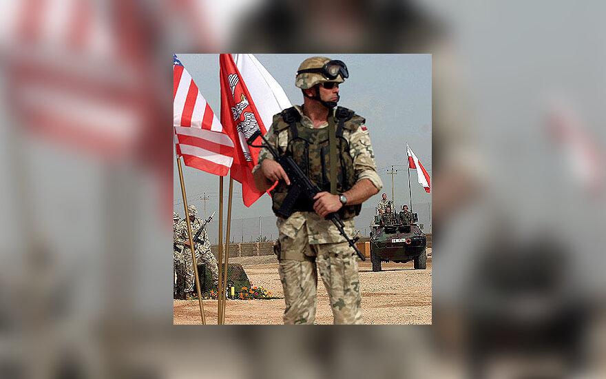 Lenkijos kariai Irake
