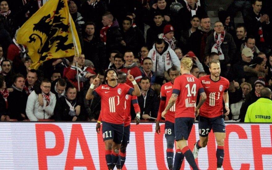 """""""Lille"""" futbolininkai"""