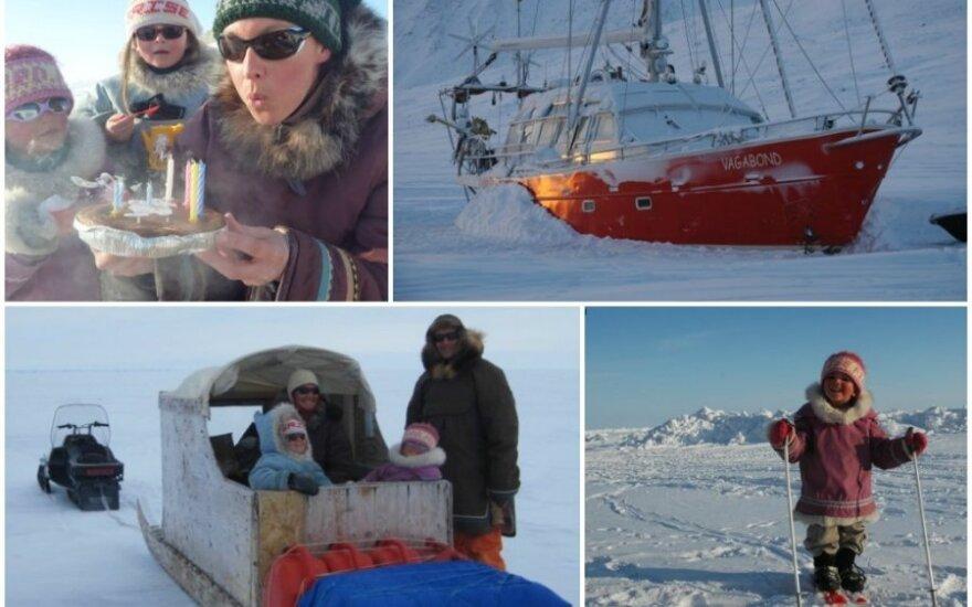 Gyvenimas burlaivyje Arktyje