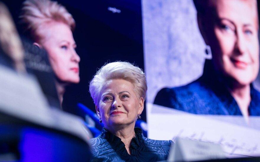 Grybauskaitė informavo apie COVID-19 pasekmių mažinimo fondo pirkinius