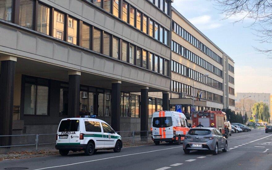 Vilniaus centre nugriaudėjo sprogimas, atskubėjusi policija uždarė gatvę