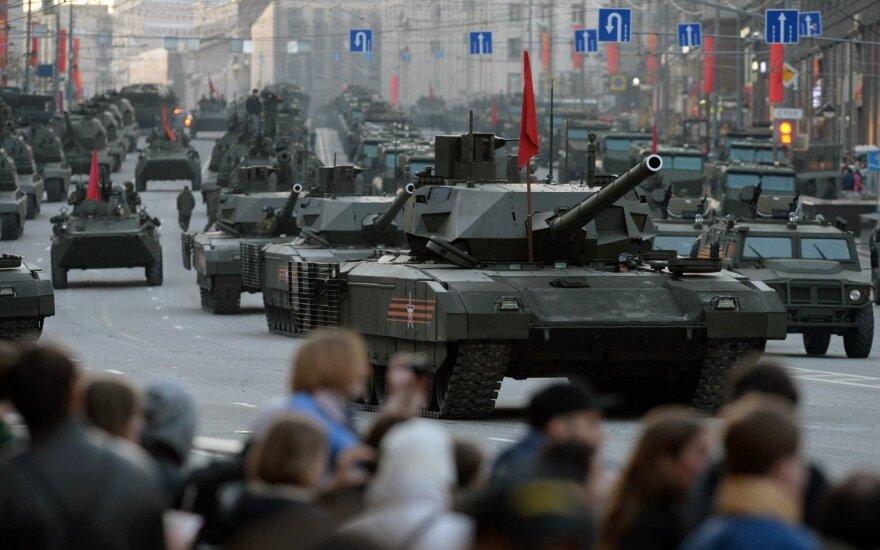 Rusija tapo antra didžiausia pasaulyje ginklų gamintoja