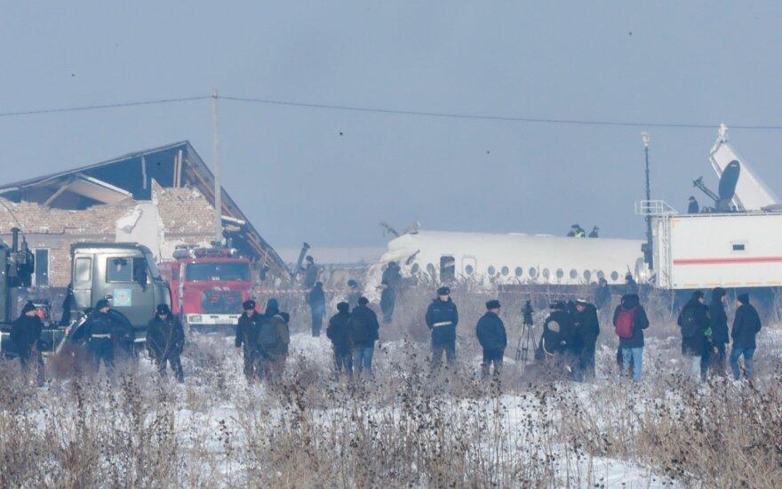 Kazachstano lėktuvo katastrofa tikriausiai įvyko dėl orlaivio apledėjimo