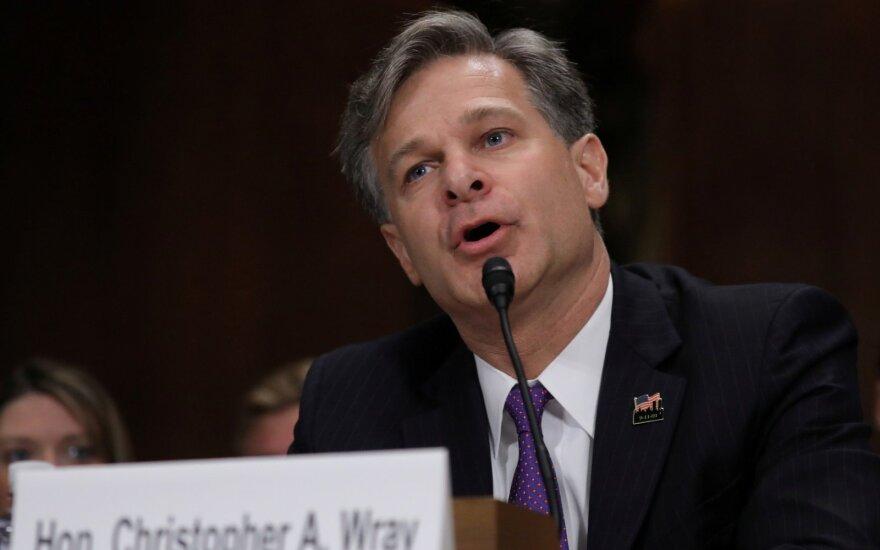 FTB direktorius Christopheris Wray