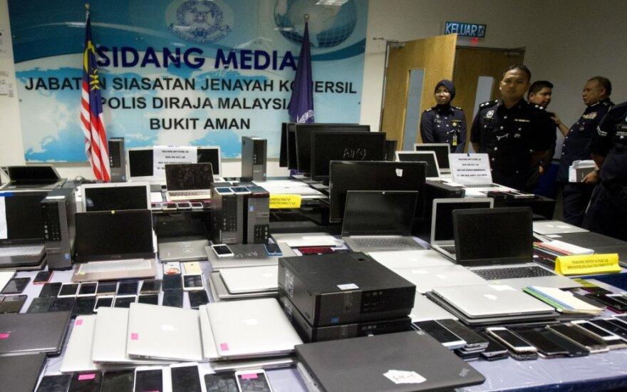 Malaizijoje atskleista didelio masto telefoninio sukčiavimo schema