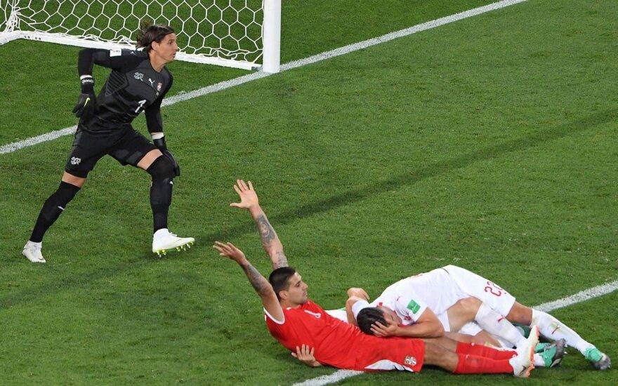 Serbija pateikė FIFA skundą dėl Vokietijos teisėjo