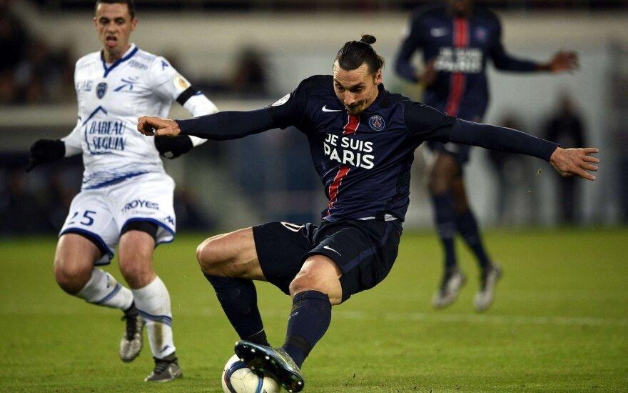 """""""Paris Saint-Germain"""" – """"Troyes"""" dvikova"""