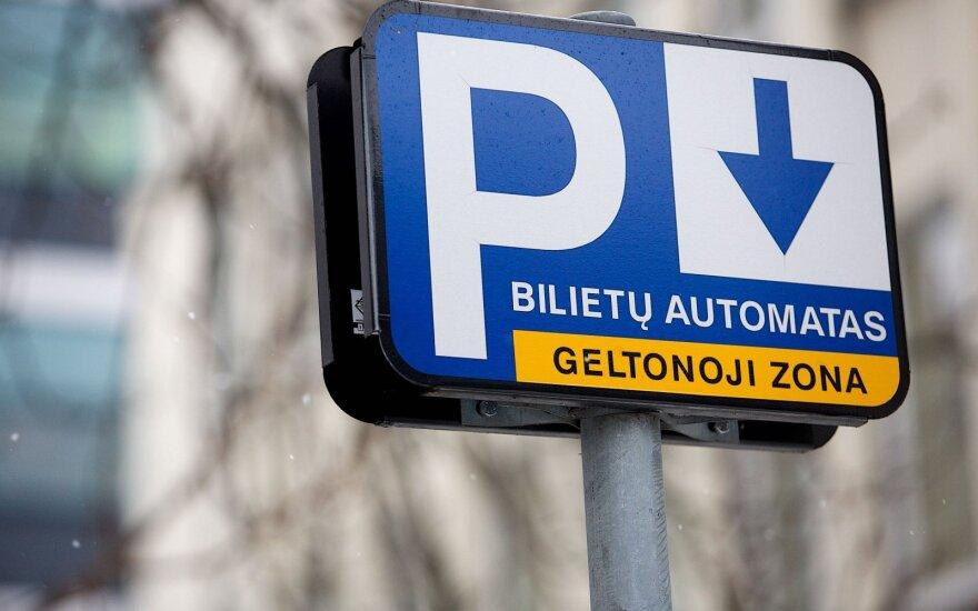 Prieš palikdami automobilį apsidairykite: Vilniuje jau netrukus baigs stovėjimo zonų ženklinimo darbus