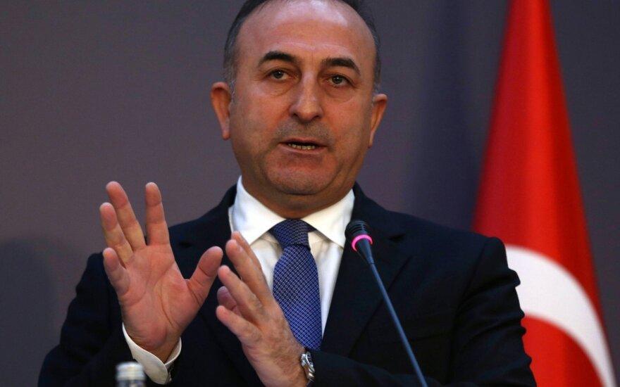 Turkijos užsienio reikalų ministras sekmadienį lankysis Prancūzijoje