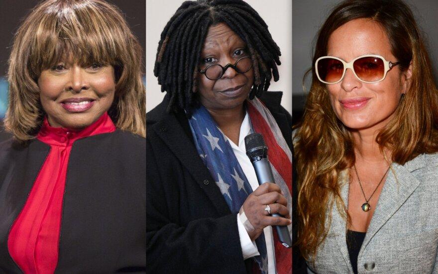 Tina Turner, Whoopi Goldberg, Jade Jagger