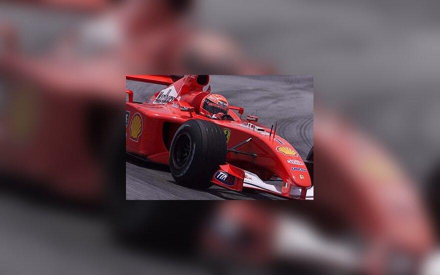 """""""Ferrari F2001"""" bolidas"""